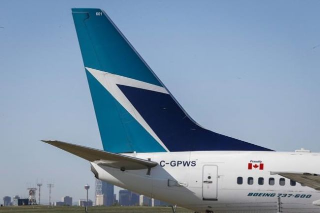 WestJet fire caused by e-cig