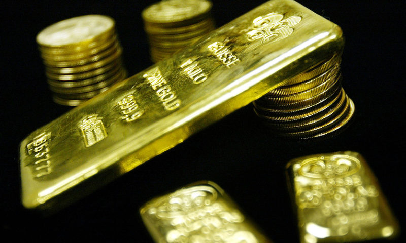 Gold futures log first decline in 3 sessions
