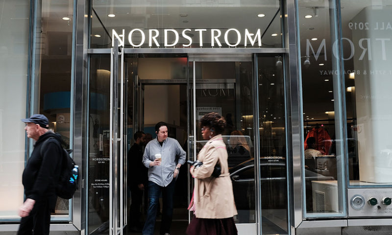 Nordstrom shares sink as full-price business shows signs of weakness