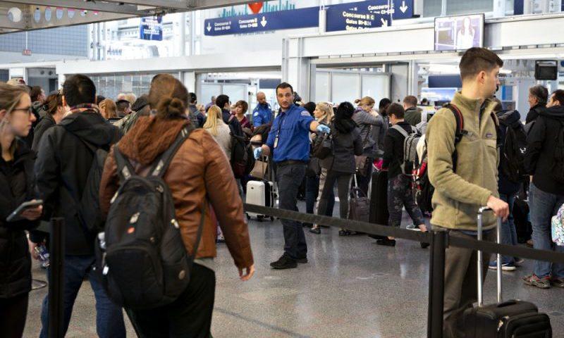 U.S. Travel Pain Grows as Winter Storm, TSA Sickouts Worsen