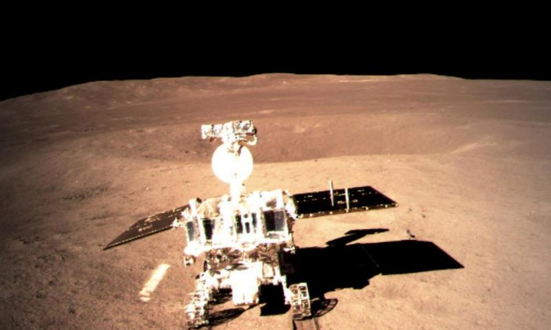 Chinese Rover Beings Exploring 'Dark' Side of Moon