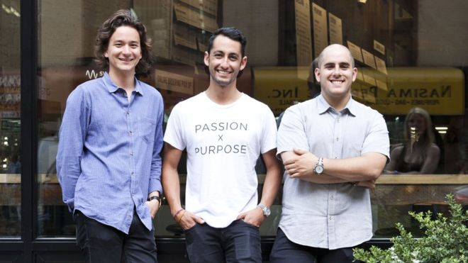 The three friends behind a $1bn healthy fast-food firm