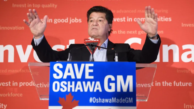 'Losing is not an option': Unifor's fight against GM is a battle for its future