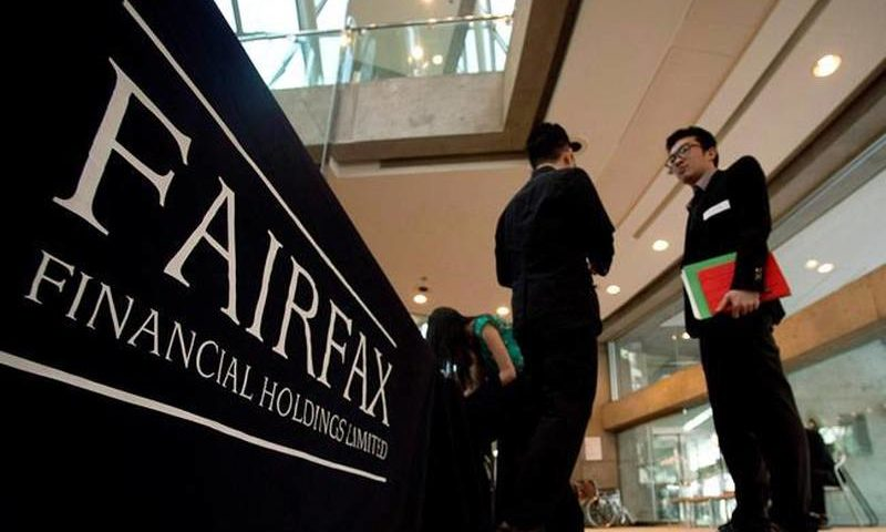 Equities Analysts Issued Awaitations For Fairfax Financial Stake LTD Subordinate Voting Shares' Q1 2019 Revenue (FFH)