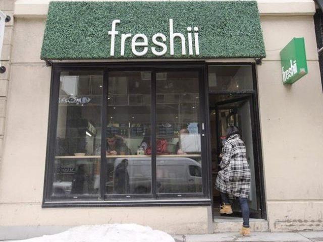 Freshii links with Walmart