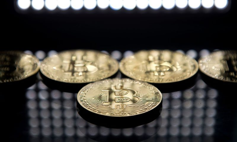 Bitcoin backs off three-week high, trades below $3,600