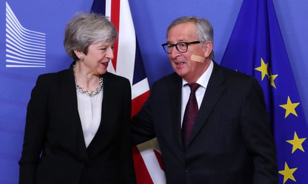 No breakthrough for May after 'constructive' Brexit talks in Brussels