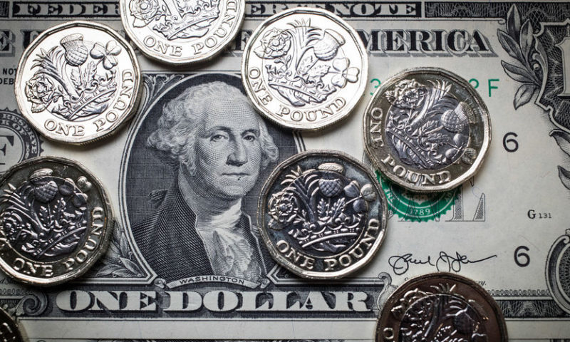 British pound rallies on hope of Brexit delay, drags dollar lower