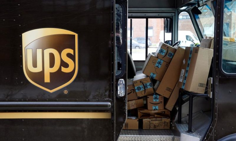 UPS' Profit Slips, but Results Top Expectations, Shares Rise