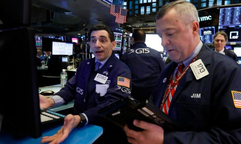 US Stock Indexes End Slightly Lower After Wobbly Day