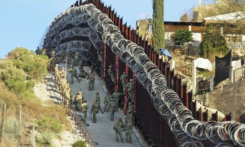 Arizona City Officials Demand Government Remove Razor Wire from Border Wall