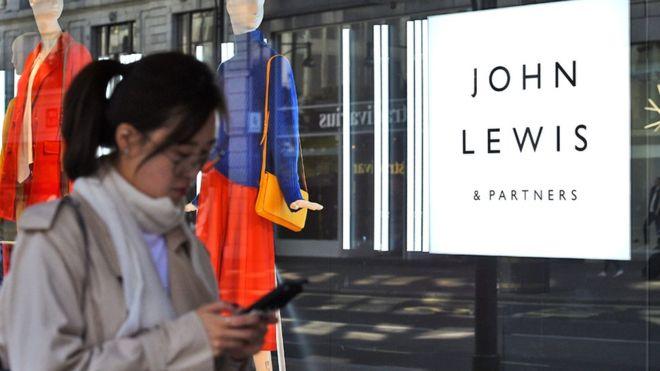 John Lewis bonus lowest since 1950s as profits plunge
