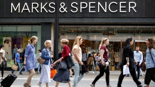 M&S plans big store shift towards weekly food shop