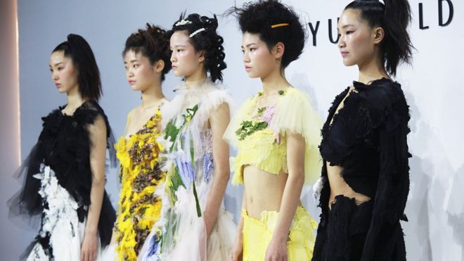 UK fashion brands battle for China's growing market