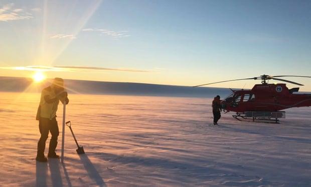 Australian researchers find huge lakes beneath largest east Antarctic glacier