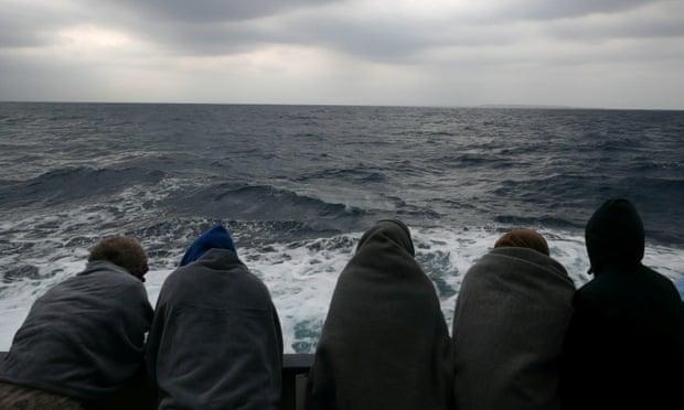 Rescued migrants hijack merchant ship off Libya