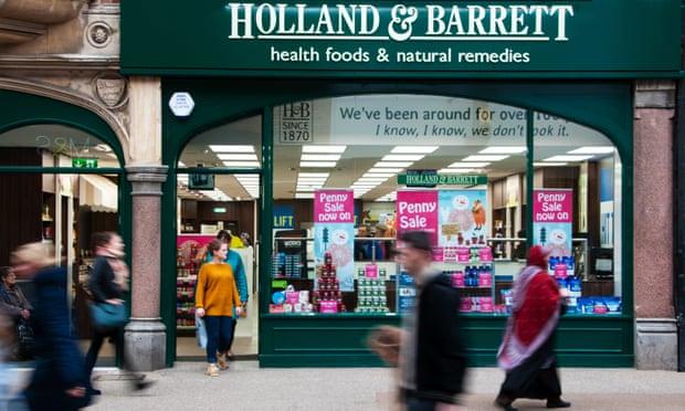 Holland & Barrett accused of treating suppliers 'shabbily'