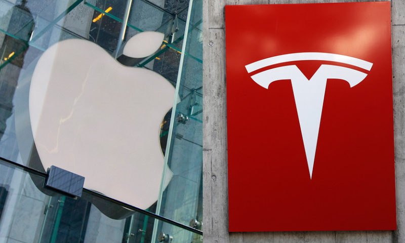 Tesla is like Apple and Salesforce, but don't buy the stock right now, analyst says