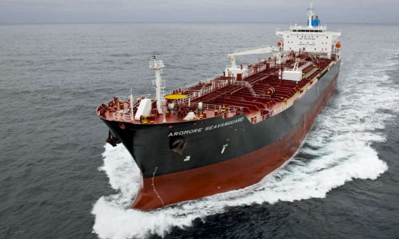 Ardmore Shipping Corporation (ASC) Soars 5.84% on April 01
