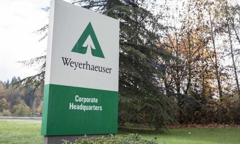 Equities Analysts Decrease Earnings Estimates for Weyerhaeuser Co (NYSE:WY)