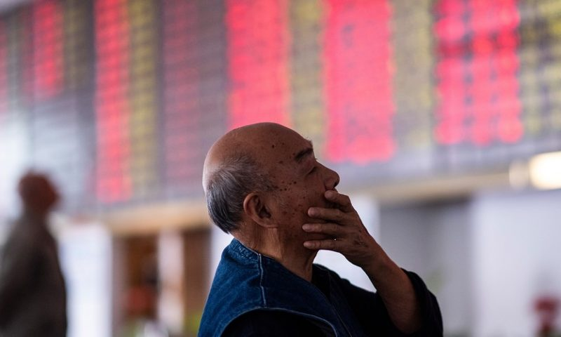 Tariff fight prompts biggest China stock-market outflow since 2015: IIF