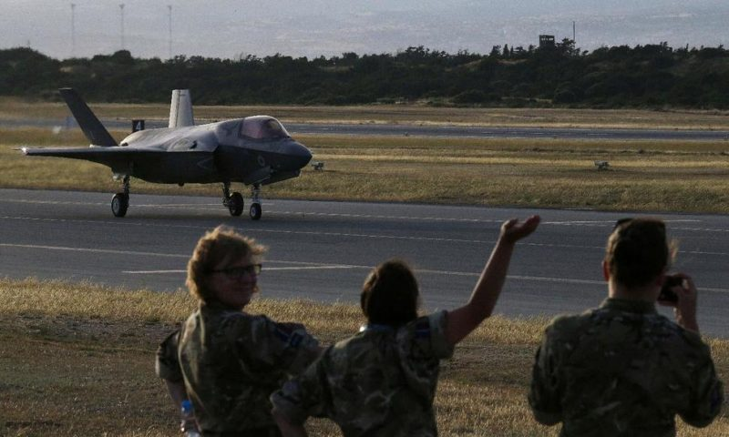 F35-B Fighters Land in UK's Cyprus Base for Training, Tests