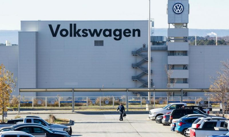 Efforts to Unionize Tennessee Volkswagen Plant See Setback