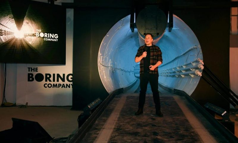Vegas Tourism Board Backs $49M Elon Musk Transit System