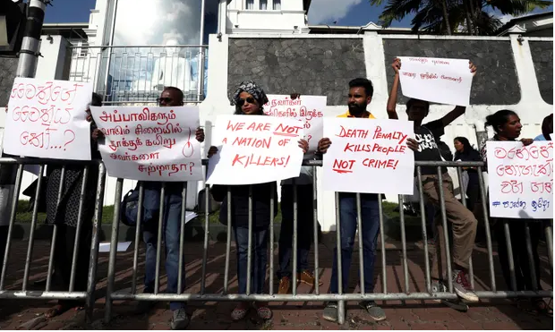 Sri Lanka appoints executioners for return of death penalty