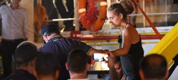 Rescue ship captain arrested for breaking Italian blockade