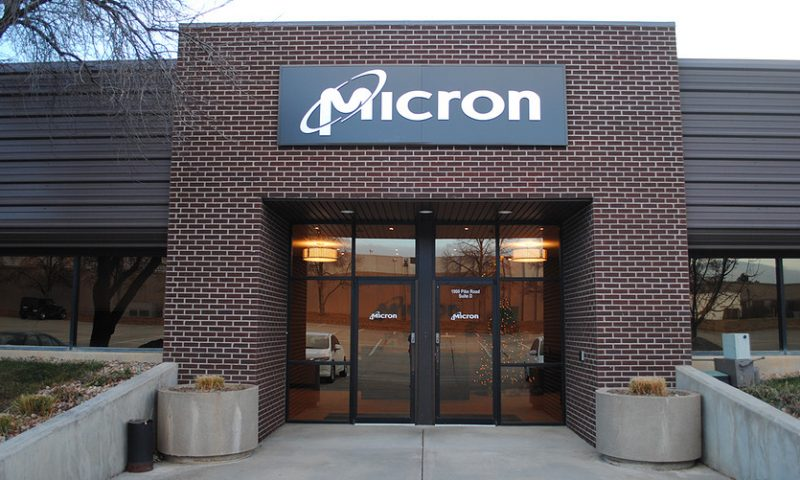 Micron stock heads for best day since 2011 but chip giant isn't 'in the clear'