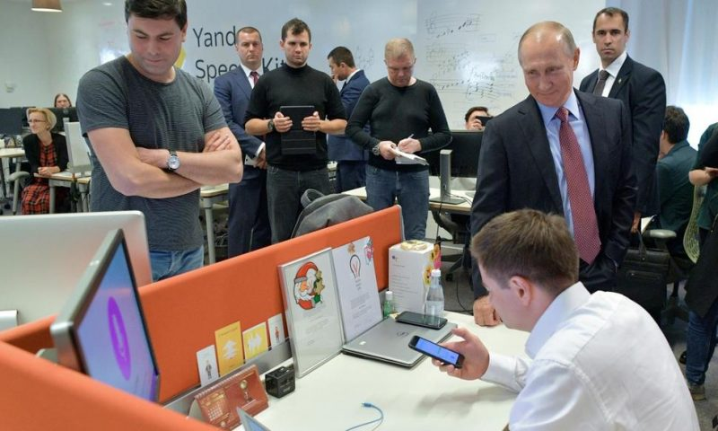 Top Russian Internet Firm Reportedly Under Pressure on Data