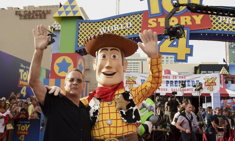 'Toy Story 4' easily opens at No. 1 although $118 million domestic debut misses high expectations
