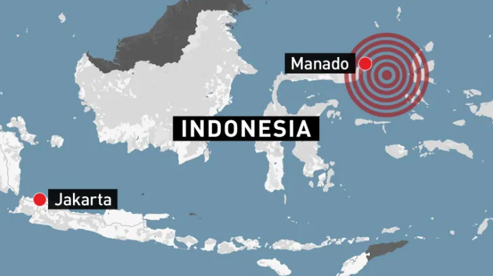 Indonesia issues tsunami warning after magnitude 6.9 earthquake