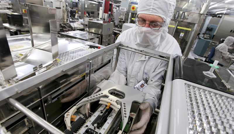 Chip stocks head for record high after Texas Instruments earnings, ahead of Intel's results
