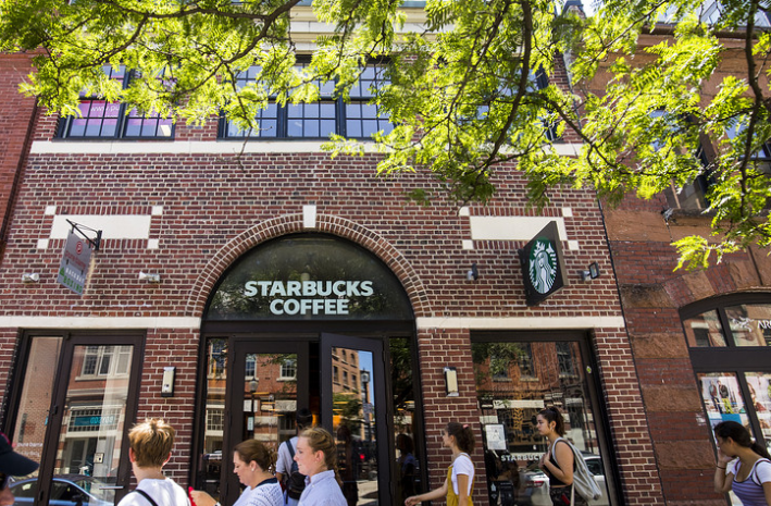 Starbucks stock pops on earnings beat, sales growth in U.S., China