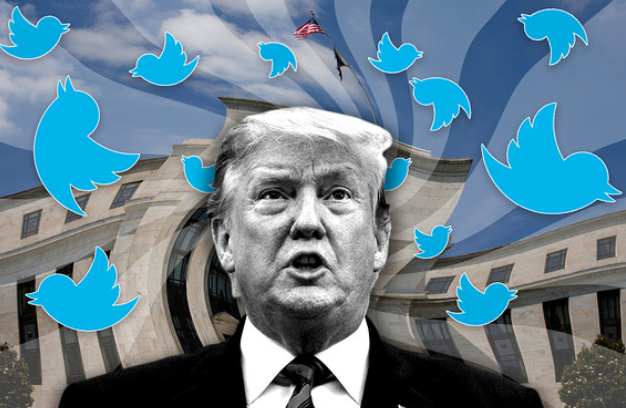 Trump tweets are blowing Fed off course