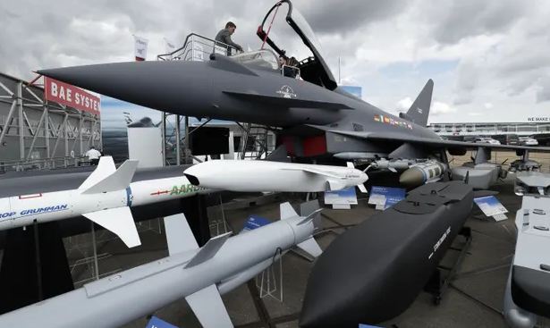 UK reclaims place as world's second largest arms exporter