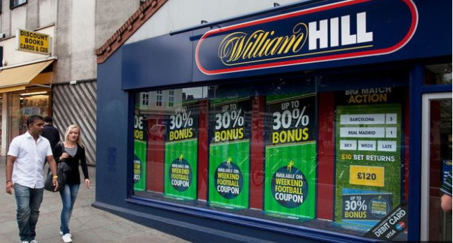 William Hill plans 700 store closures putting 4,500 jobs at risk
