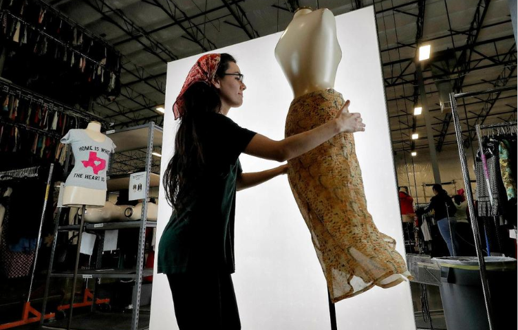 Department Stores Make Room for Used Fashion