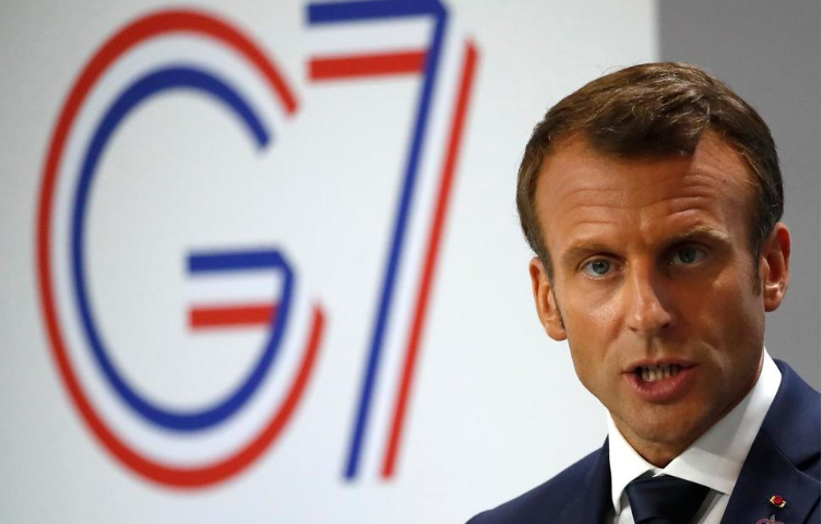 Macron Calls Amazon an Issue for Whole Planet