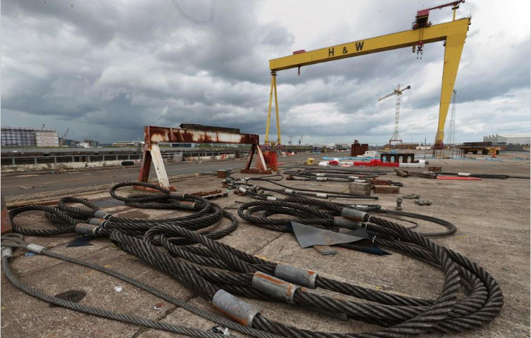 Titanic Shipyard in Northern Ireland Calls in Administrators