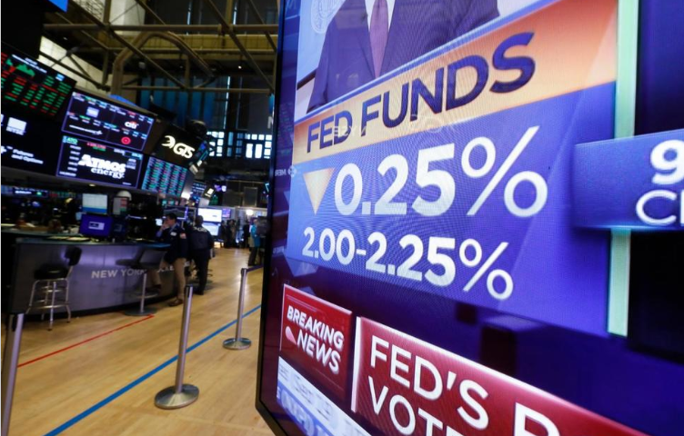 Stocks Sink as Powell Dents Hopes for Multiple Rate Cuts