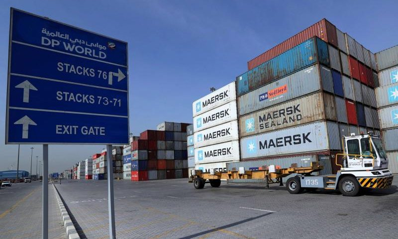 Revenues up for Dubai's Global Port Firm DP World