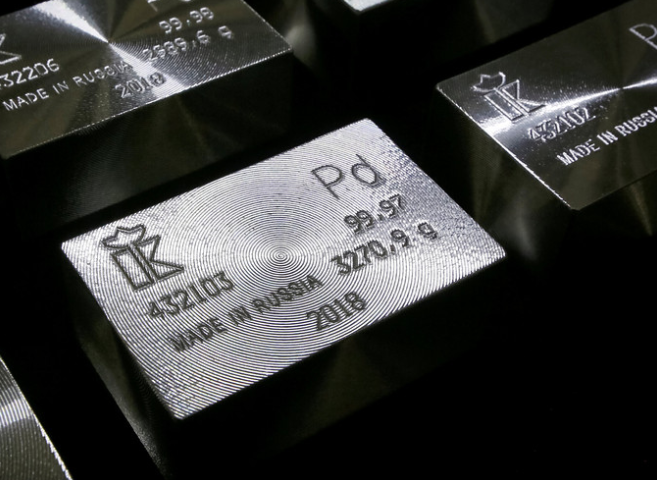 Palladium drops over 7% to log biggest loss in months