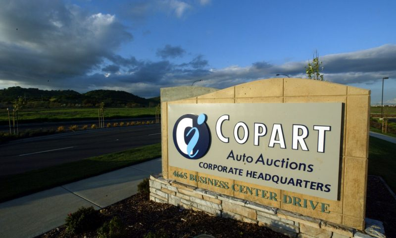 Equities Analysts Boost Earnings Estimates for Copart, Inc. (NASDAQ:CPRT)