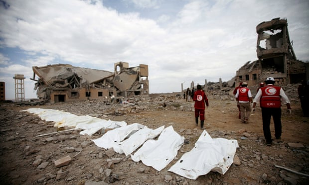 Red Cross says more than 100 people killed in airstrike on Yemen prison