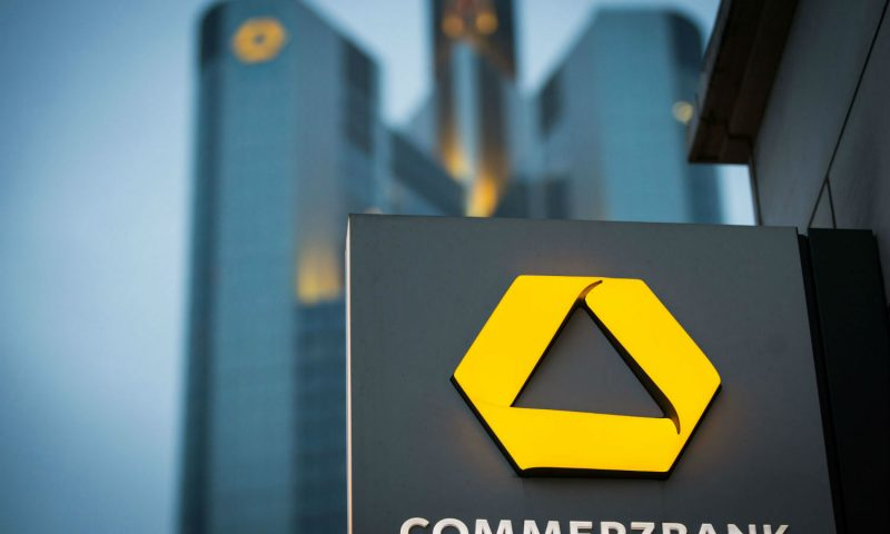 Germany's Commerzbank Plans 4,300 Job Cuts in Restructuring