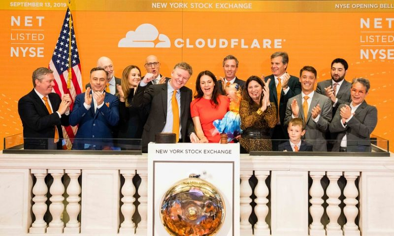 Cloudflare stock bursts out of gate following already elevated IPO range