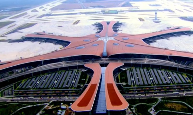 China Opens New Beijing Airport Ahead of Party Anniversary